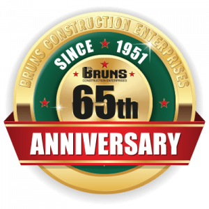 Bruns 65 Year Anniversary Gold Seal